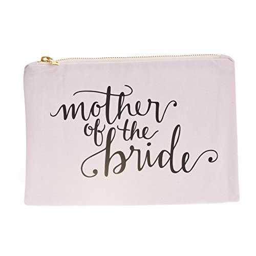 Mother of the Bride Canvas Makeup Bag by The Sleepy Cottage