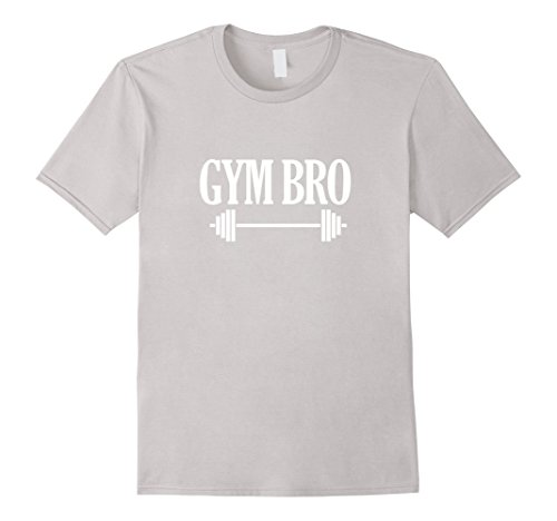 Mens Funny Gym Bro Tee Fitness Bodybuilding Workout T-Shirt Large (Gym Bro Costume)