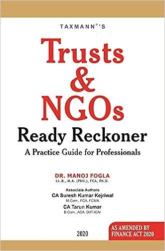 Trust and NGO