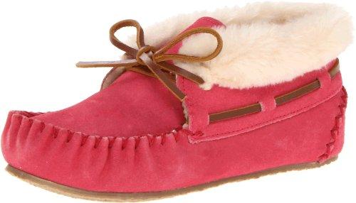 Minnetonka Childrens Charley Bootie Slipper - Hot Pink
