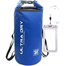 Premium Waterproof Bag, Sack with phone dry bag and Long Adjustable Shoulder Strap Included, Perfect for Kayaking / Boating / Canoeing / Fishing / Rafting / Swimming / Camping / Snowboarding