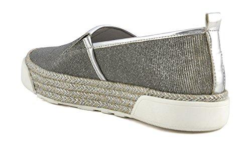 41 E17 Tessuto In Pantofola Argento Cafènoir 204 Meh929204410 Glitterato qzRCFwqI