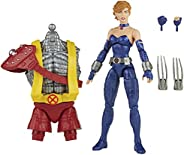 Boneca Marvel Legends Series X-Men Build-a-Figure, Figura de 15 cm - Lince Negra - F1010 - Hasbro