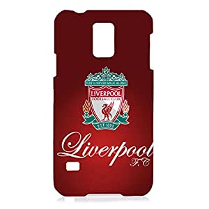 Unique Design FC Livepool Football Club Phone Case Cover For Samsung Galaxy S5 3D Plastic Phone Case