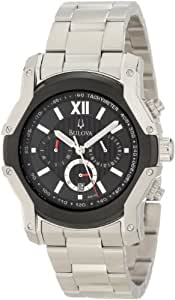 Bulova Men's 98B149 Wintermoor Steel and Black Ion Case Watch