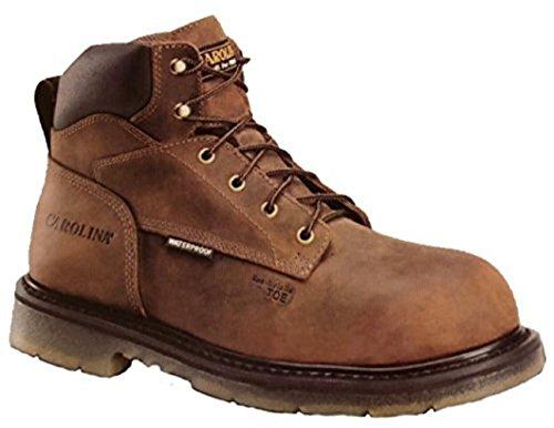 Carolina Mens Brun Ca7520 Komposit Tån 6 Arbete Boot 11,5 2e