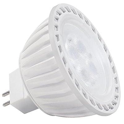 LED MR16 Bulb, 36° Spotlight with GU5.3 Bi-pin Base for Landscape, Track, Recessed, Accent Lighting, 5W (50W Equiv.), 2700K Soft White