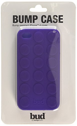 Mulberry Wholesale (PT Bud Case for iPhone 4/ 4s Bump Silicone (Purple))