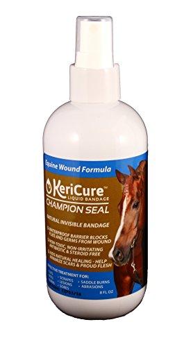 KeriCure 8 oz Champion Seal Spray on Liquid Bandage for H...