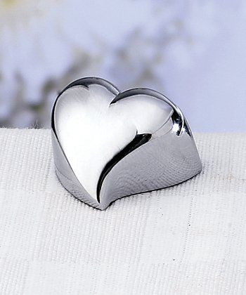 Contemporary Place Card Holders - 1 Contemporary Design Heart Place Card Holder