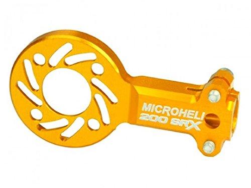 Microheli Aluminum Tail Motor Mount (GOLD) - BLADE 200 SRX (Blade Srx Microheli 200)