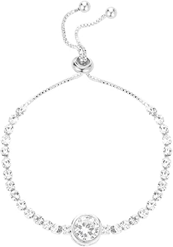 crystal bracelet black wedding bride prom birthday mum Christmas STAR DUST