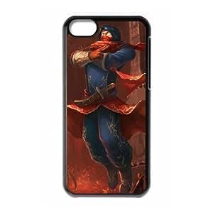 iPhone 5c Phone Case Cover Black League of Legends Vizier Malzahar EUA15967251 Cases For Cell Phones