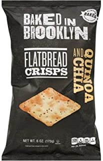 product image for Baked In Brooklyn Flatbread Crisps Quinoa and Chia 6 oz (pack of 12)