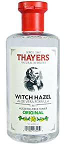 Thayer's Alcohol-Free Original Witch Hazel Toner, 12 oz