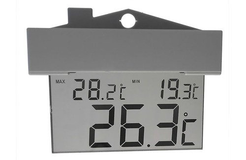 Thermco DIGITAL Window Thermometer Triple Display Supra Model