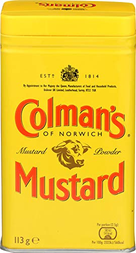 Colman's Dry Mustard Powder, 4-Oz., Pack of 4 (Best Supermarket Bbq Sauce Uk)