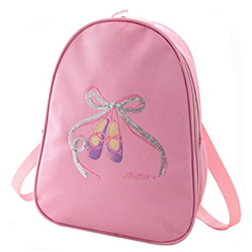 George Jimmy Kids Dance Bags Travel Backpack School Bags Girls Backpacks Side Bags - Pink by George Jimmy