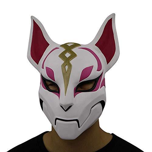 Fortnite Mask Halloween Cosplay Season Natural Latex Costumes for Adult Kids Game