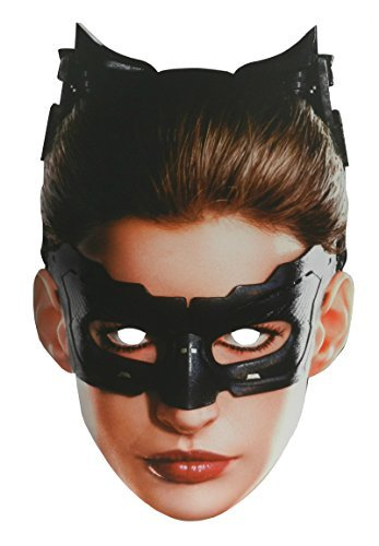 Masky Catwoman The Dark Knight Trilogy Paper Mask]()