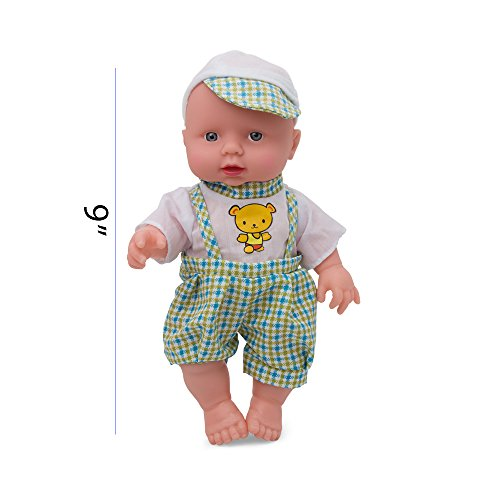 Kidsthrill Toddler 9 Inch Baby Doll