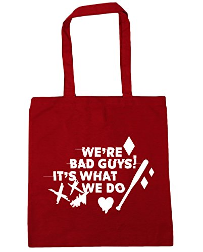 Do Red What Beach Harley We Classic Guys 10 x38cm Quote It's Bag Tote HippoWarehouse 42cm Gym Shopping We're litres Bad 7FnIq0HY