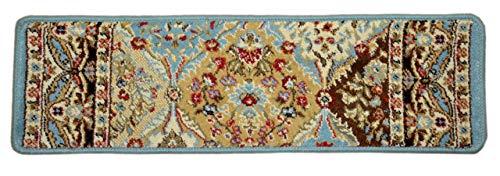 (Dean Panel Kerman 31-Inch Width Stair Carpet Treads (Set of 13))