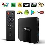 Android TV Box, TX3 Mini Android 7.1.2 TV Box Quad Core WiFi 4K