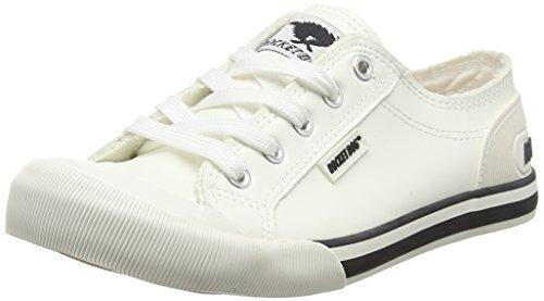 Rocket Dog Damen Jazzin Sneaker Weiß (Cadet White)