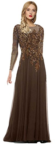 Brown Evening Gowns - 9