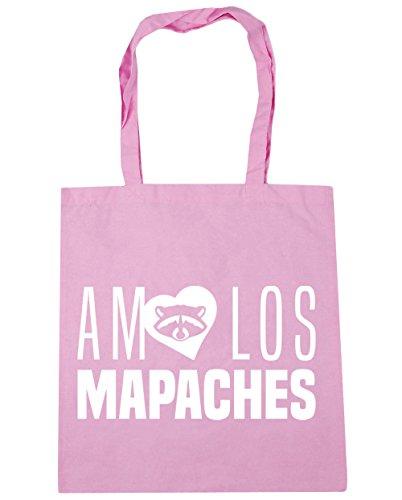 Capacidad Gimnasio De Mapaches Clásico 10 Con 42cm Rosa X Para Compra Hippowarehouse Los Amo Bolsa 38cm Bolso Asas Playa Litros qPIITfpw1