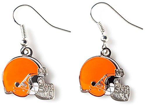 NFL Cleveland Browns Logo Dangler Earrings