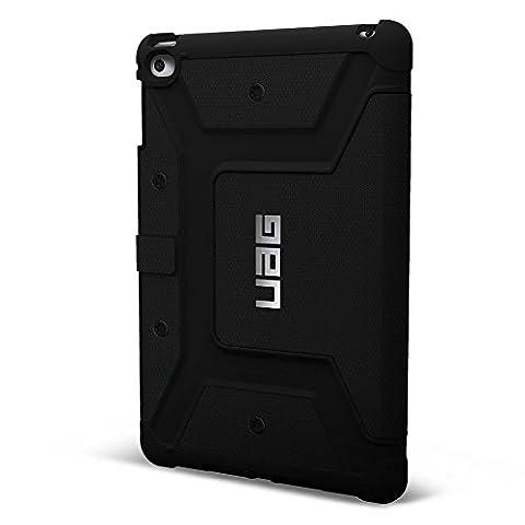 UAG Folio iPad Mini 4 Retina Feather Light Composite [BLACK] Military Drop Tested iPad Case (Ipad 4 Folio)