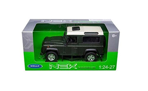 Welly 1:24 W/B - Land Rover Defender Green Color 22489W