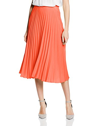 Arancione Hot Pleat Donna Gonna Sunray Squash orange wwFfxq6ZT