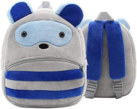 Backpack School Bag Children Plush Shoulder Preschool Backpack Boy Gril Kids New
