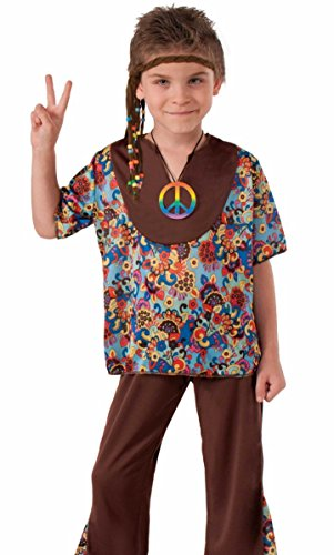 Hippie 60's Style 2-Piece Child Costume