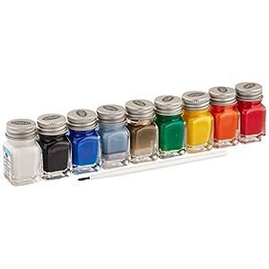 Testors Acrylic Value Finishing Paint Set - 9196T