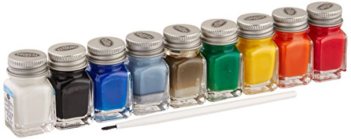 Testors Acrylic Value Finishing Paint Set Acrylic Model Paint