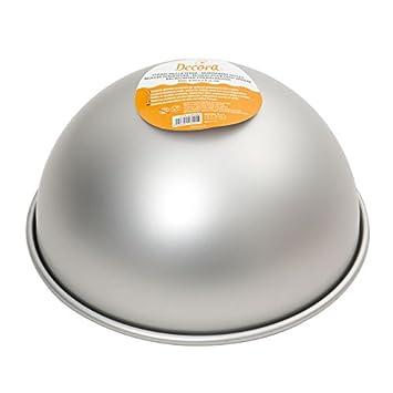 Decora 0062954 Backform Halbkugel Aluminium Silber Amazon De
