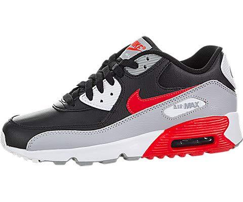 the best attitude b9f11 42443 Galleon - Nike Boy s Air Max 90 Leather (GS) Shoe, Cargo Khaki Cool Grey-Black-Sequoia  6Y