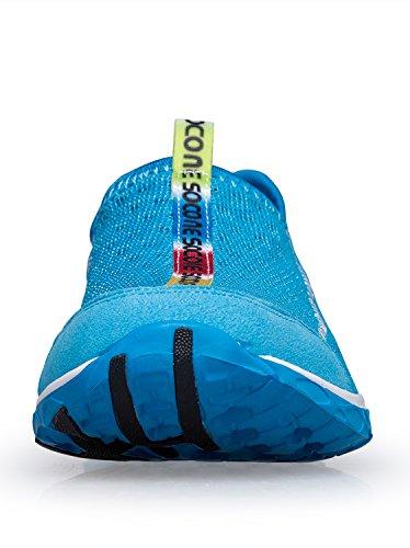 Schnell trocknende Aqua-Wasser-Schuhe der Zhuanglin Männer Blau