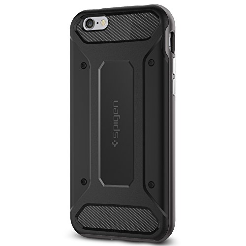 Spigen Neo Hybrid Carbon iPhone 6s Case with Carbon Fiber Design and Reinforced Hard Bumper Frame for Apple iPhone 6s/iPhone 6 (2015) - - Case Hybrid Hard