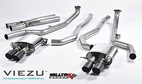milltek Sports para serie 5 M5 Berlina M TwinPower Turbo V8 (F10) 2011 - 2018 CATBACK: Amazon.es: Coche y moto
