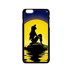 Beautiful sea yellow moon Mermaid Cell Phone Case for Iphone 6 by lolosakes