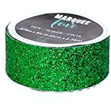 "Heidi Swapp Marquee Christmas Glitter Tape, 7/8"" x 9', Dark Green"