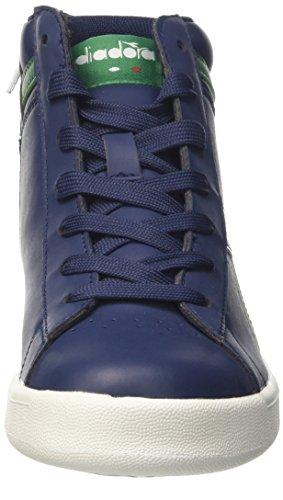 Diadora Game P High y, Zapatillas Para Niños Azul (Blu Estate/bianco)