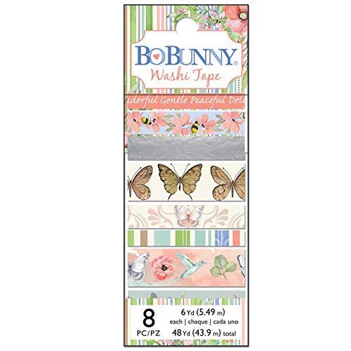 - Bo Bunny 7310521 Butterfly Kisses Washi Tape Multi
