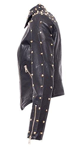 GH106H17 GH106H17 GH106H17 Woven Donna Giacchetto Ladies MOLLY Nero Jacket BRACKEN BRACKEN BRACKEN Ya1Wvqn4Z