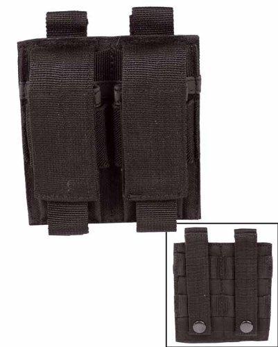 G8DS® Magazin Tasche für 2 Pistolenmagazine Schwarz passend Molle System 13495502 4MEBAm